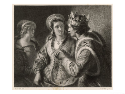 10005476Henry-V-His-Wooing-of-Catherine-de-Valois-Posters